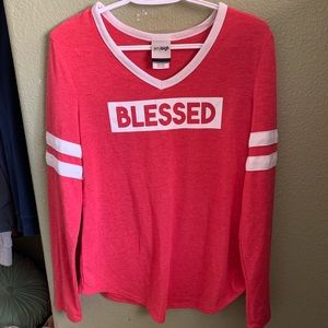 Sweaters - Red blessed sweater